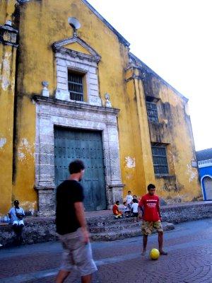 Football in Getsemani, Cartagena