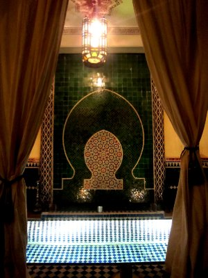 The riad in Marrakesh