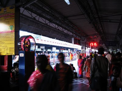 Train Station at Haridwar
