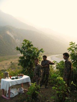 Sunset Chai in the Himalayas