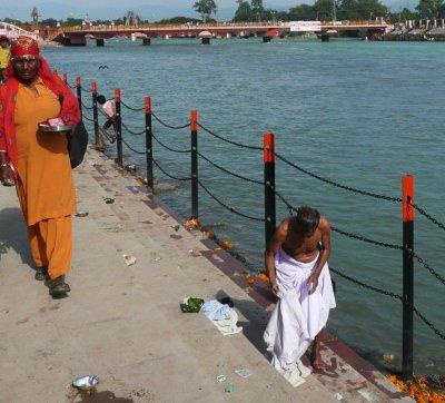 River Ganges at Haridwar