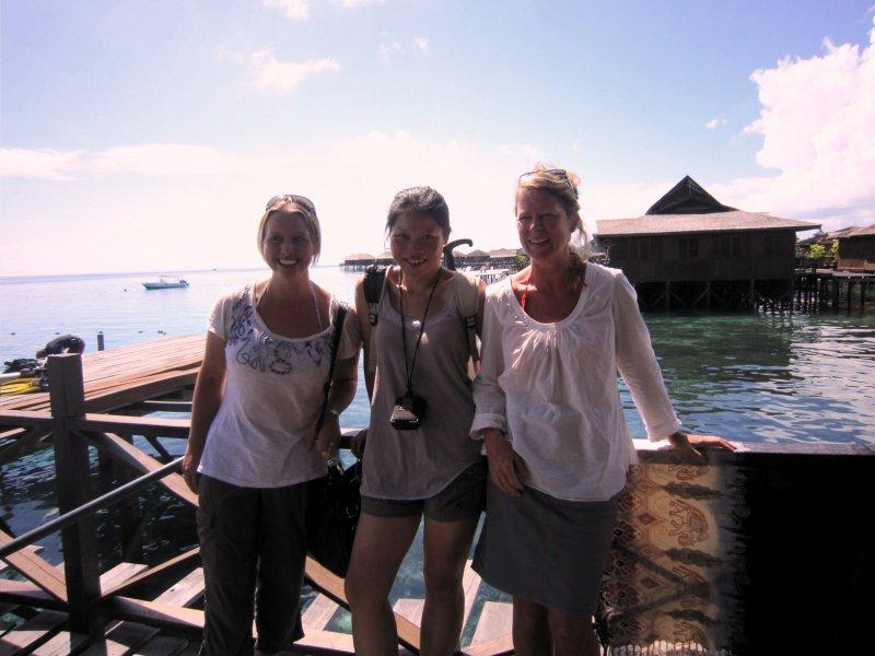 With Dora (Hong Kong) and Grace (Tasmania)