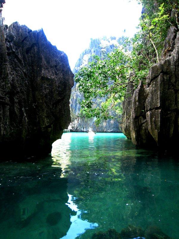 Kayaking the hidden lagoon
