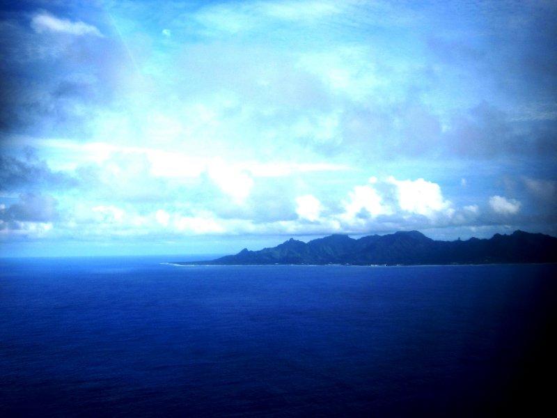 Arriving back to Rarotonga