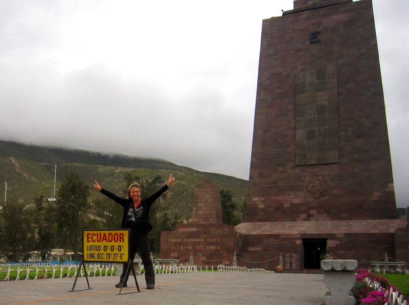 la mitad del mundo, centre of the world, or is it?