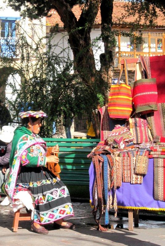 boxing Day market in the plaza Regocijo