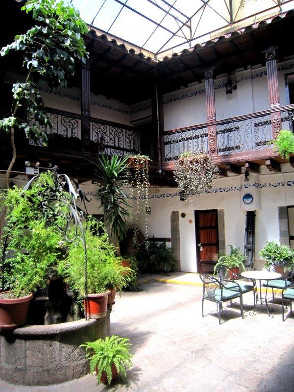 My hotel in Cusco