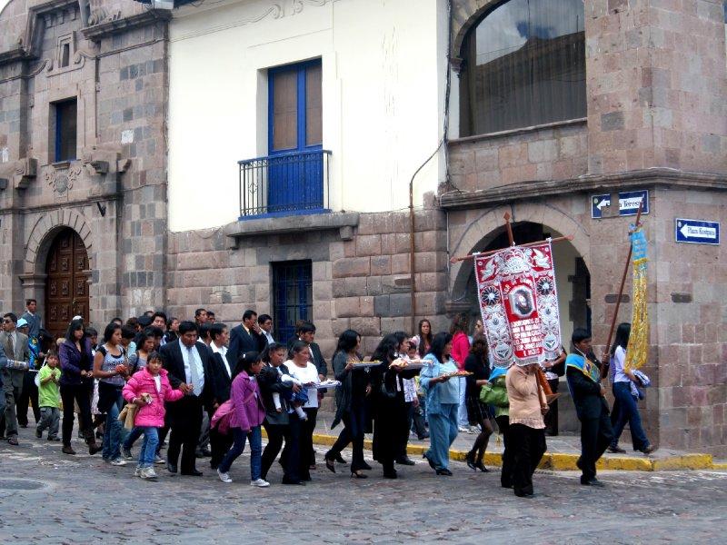 Cusco on NY day