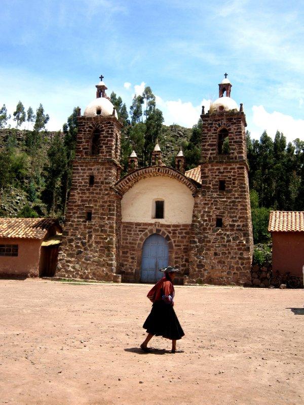 Raqchi indiginous village