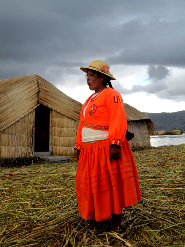 Uros floating Island, Lake Titicaca