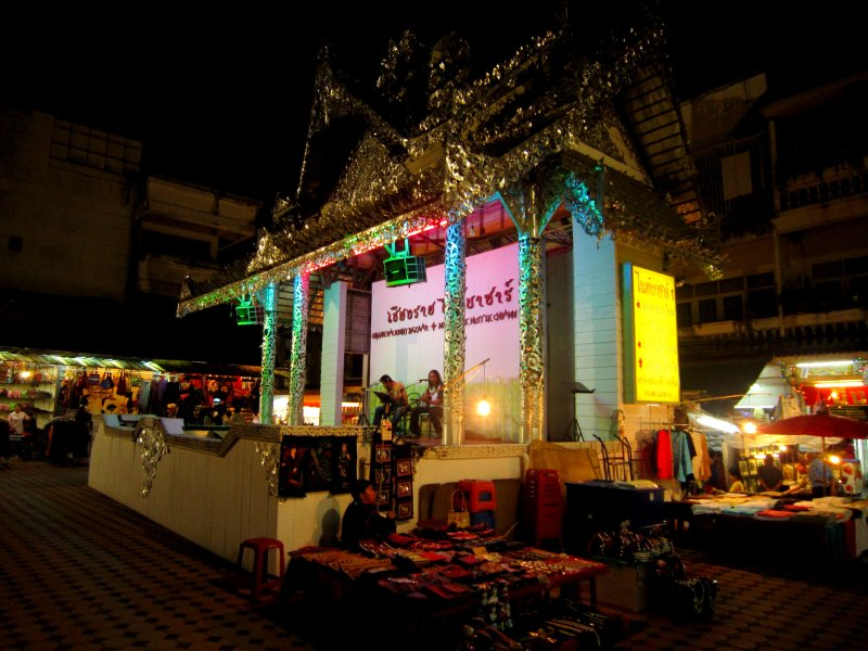 Night bazaar live music