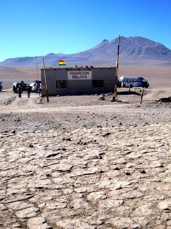 The Bolivian border crossing!