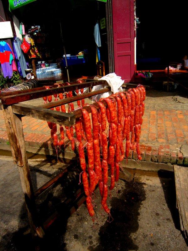Luang Prabang special sausage