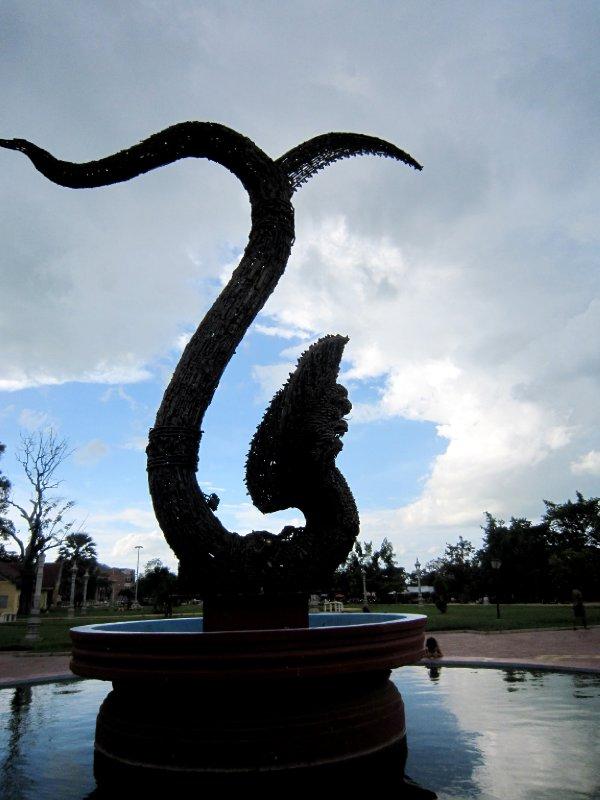 Naga peace monument