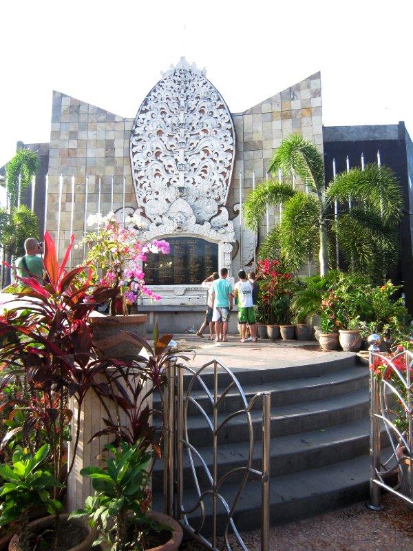 Site of the devastating 2002 Bali bombings