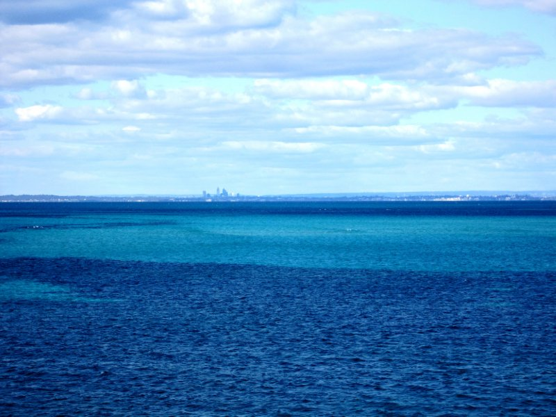 That is Perth across the sea
