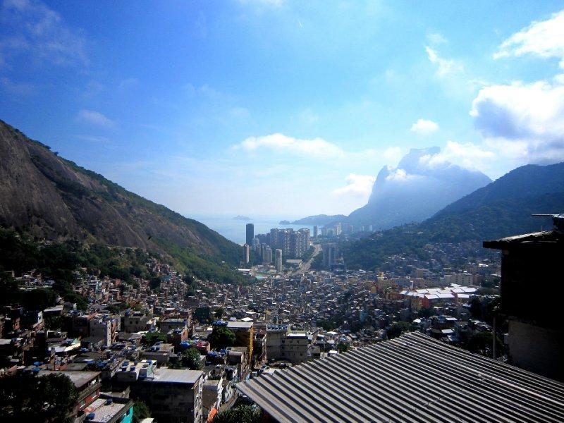 View from Rocinha favela, Rio