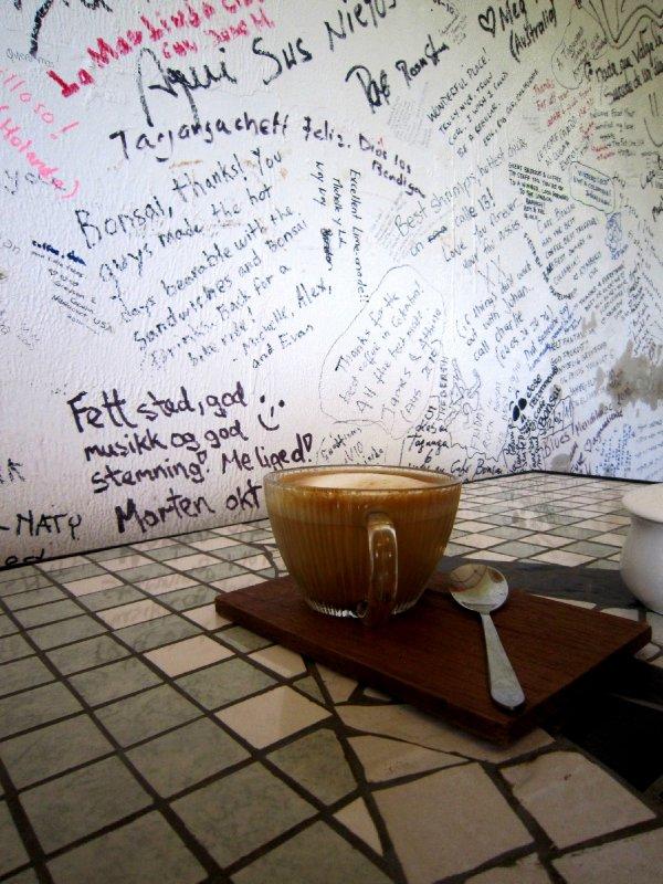 Cafe Bonsai, Taganga