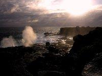 Blowholes, Espanola island