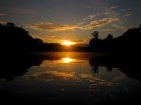 Sunrise over the Brazilian Amazon