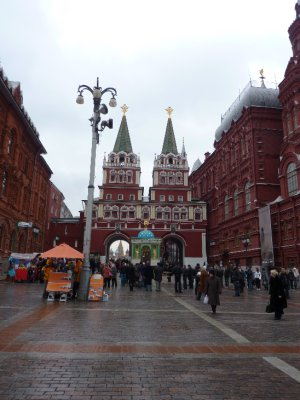 Approaching the Red Square