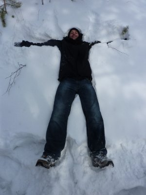Jono snow angel