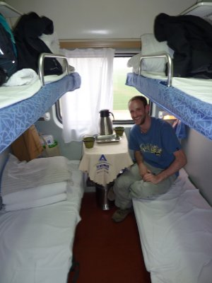 Hard Sleeper From Beijing to Xi'an