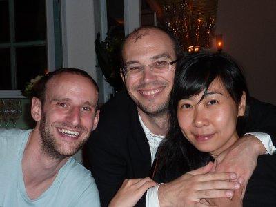 Jono, Nicole and Chris