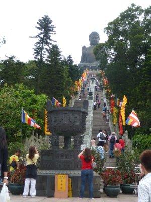 Steps to the Big Buddah