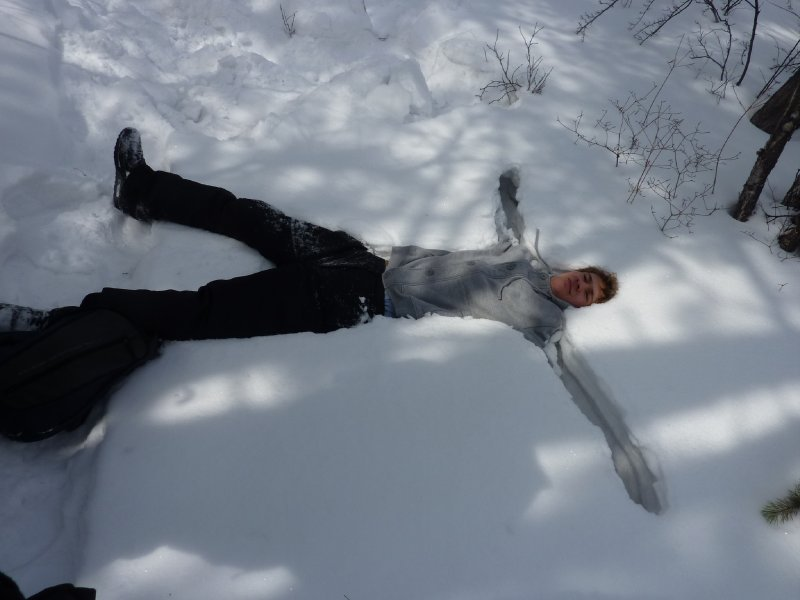 Perry snow angel