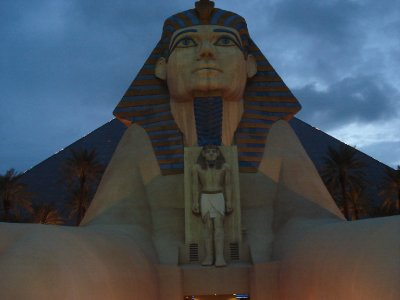 Luxor Sphinx Closeup