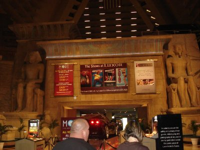 Inside the Luxor