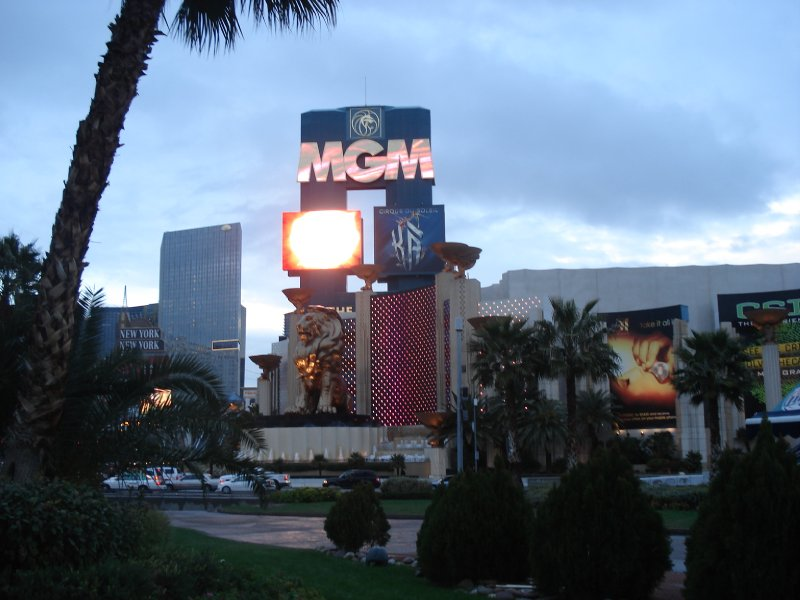 MGM Grand front
