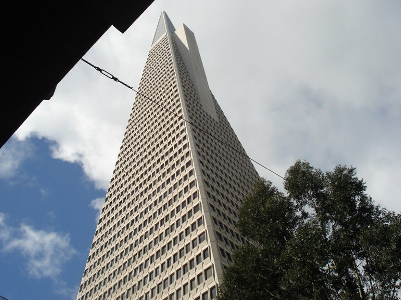 Transamerica Pyramid Closeup