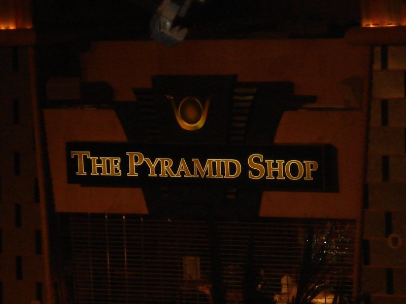 The Pyramid Shop