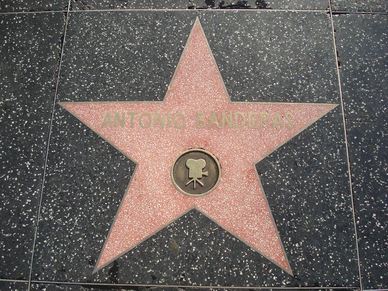 Antonio Banderas Star