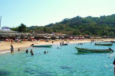 Ixtapa Island Landing
