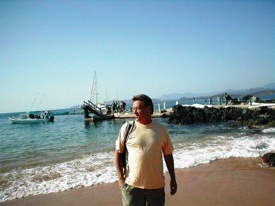 Z - Pier to get to Ixtapa Island