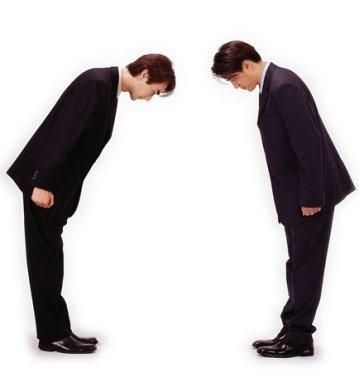 Etiquette Bowing