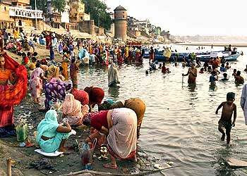 The Ghats- Varanasi