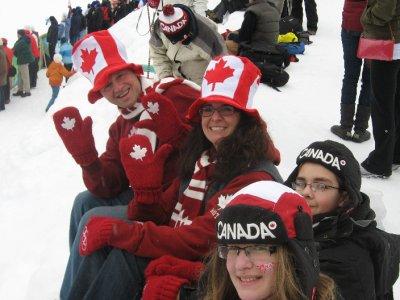 Big hats in Canada
