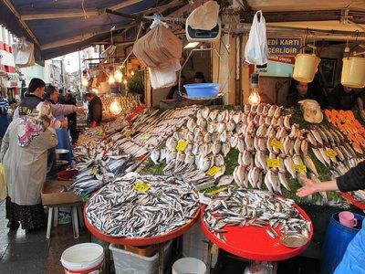 fish shop, Kadakoy
