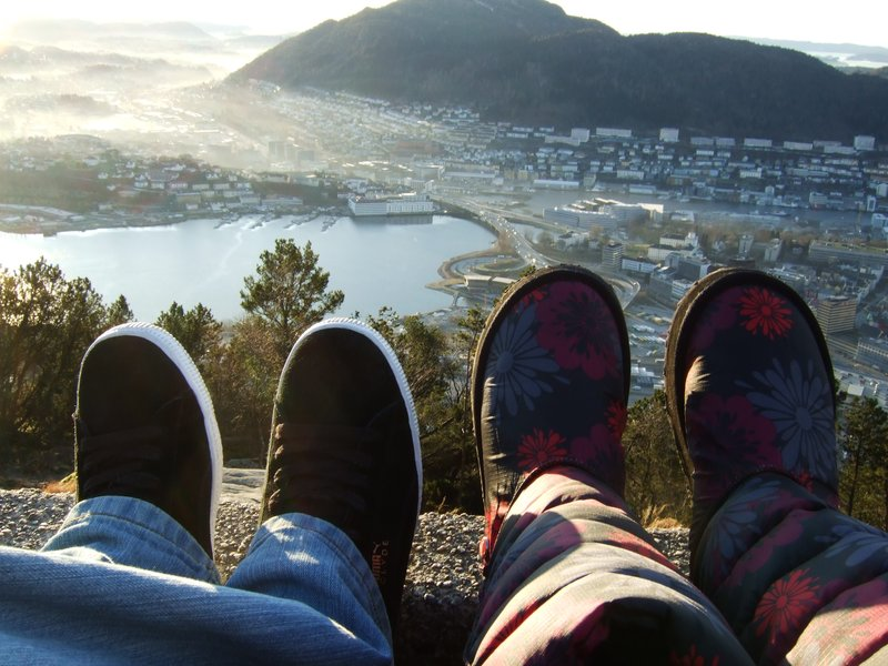 Looking down upon Bergen