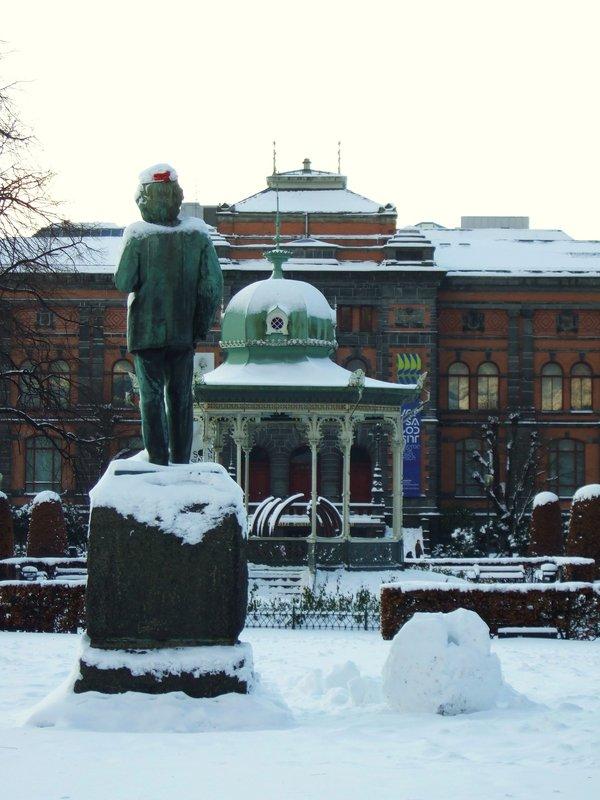 Festive Statue