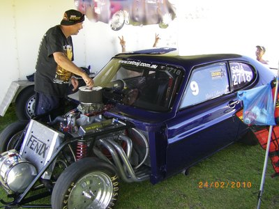 Capri in the Pits at Perth