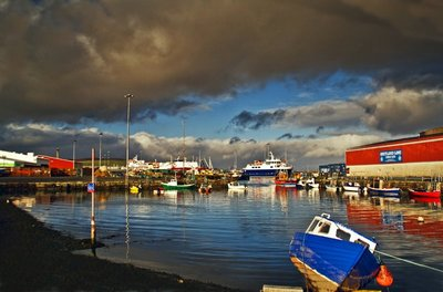 shetland harbour