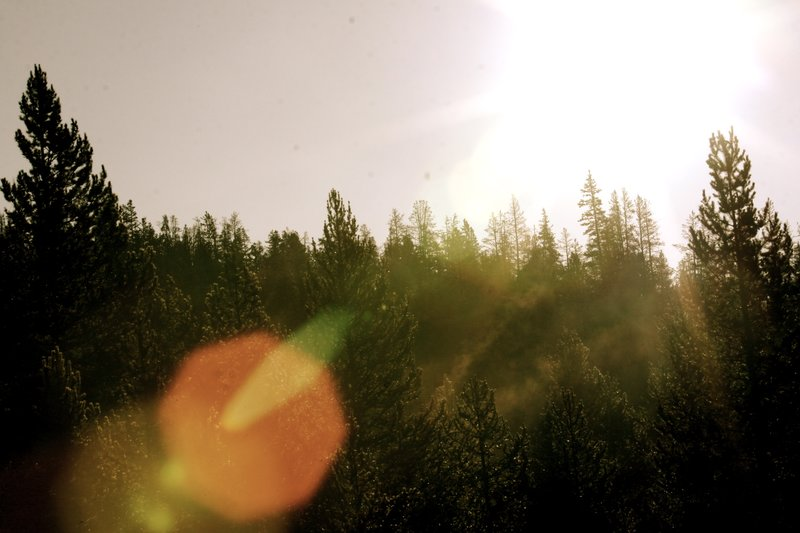 The Sun Rises in the Uintas