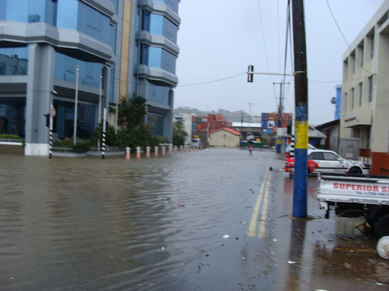 Flood in St. Lucia
