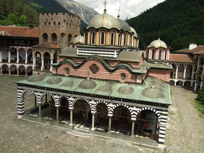 Rila Monastry Bulgaria