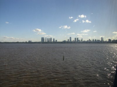 Buenos Aires from the Water